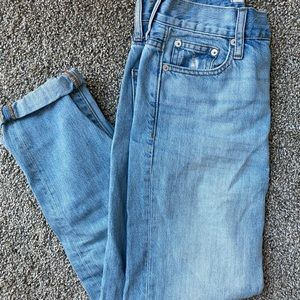 Madewell Perfect Summer Jean light wash size 24